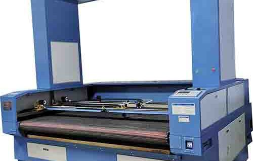 Laser Cutting Machine With Panoramic Camera And Conveyor System Tipe JY-1814FQ-2T