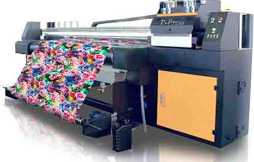 Mesin Digital Printing Kain Katun Model P-Press